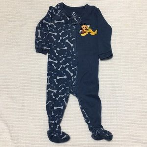 5️⃣/$20 Disneystore Baby Boy footed sleeper